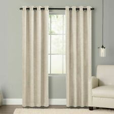 New listing Keeco Style Decor Room-Darkening Grommet Top Window Patio Curtain - Natural 2PK