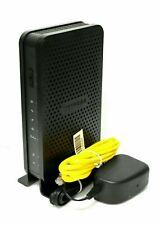 NETGEAR N300 WiFi Cable Modem/Router (Model: C3000) BLACK