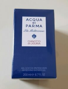 NEW Acqua Di Parma Blu Mediterraneo Chinotto di Liguria Shower Gel 200ml