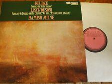 DSLO 21 Reubke Sonata in B flat minor etc. / Milne TEST PRESSING