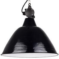 Große DDR Industrie Lampe - VINTAGE LOFT FABRIK - komplett renoviert