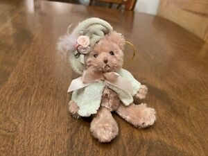 "Bearington Bear Collection Mini Bear Ornament  - 5"" - Jointed"