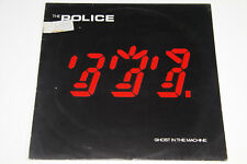 The Police - Ghost In The Machine - EU 1981 Vinyl LP - OIS - washed & cleaned