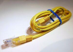 RJ45 CAT5E internet CAT5 Ethernet Network Patch LAN Cable Cord 3 feet long