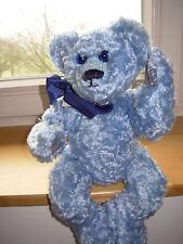 Teddy blau Handarbeit mit Spieluhr