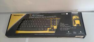 Road Mice Lamborghini Murcielago Wireless Optical Mouse and Keyboard Yellow HP