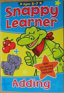 Snappy learner age 5-7 education choice adding phonics spelling or handwriting