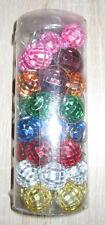 Discokugeln, Spiegelkugeln - 40 Stück - mehrfarbig