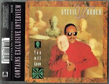 """STEVIE WONDER - 5"""" CD - You Will Know + Interview (3 Track) Germany. Motown"""