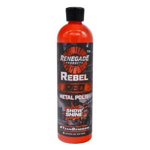 Renegade Rebel Red Liquid Metal Polish LFGRPCLRR12 - 12oz  Bottle UK STOCK