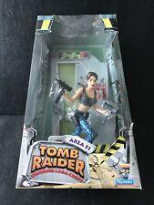New listing Playmates Tomb Raider Lara Croft Area 51 Figure Statue Box Set New 1999 Retired