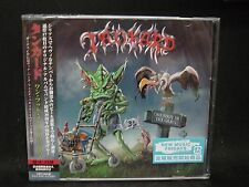 TANKARD One Foot In The Grave JAPAN 2CD Tankwart Lightmare Seventh Avenue