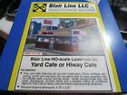 Blair Line HO Scale Yard Cafe Laser Cut Kit  #2006   Bob The Train Guy