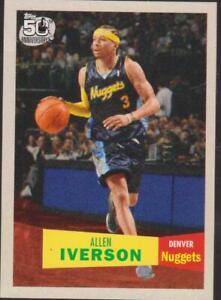 2007-08 Topps 1957-58  #33 Allen Iverson