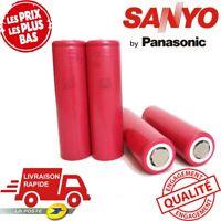 [Lot X4] Accu  SANYO 2340mAh 10A 18650 Li-Ion High Drain Batterie Rechargeable