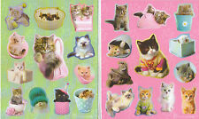 RACHAEL HALE CATS AND KITTENS STICKERS 12 SHEETS