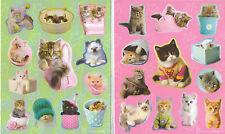 RACHAEL HALE CAT KITTENS STICKERS 12 SHEETS