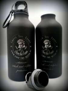 Sea Shepherd - Save the Ocean - 1x Alu Trinkflasche 400 mlLasergravur