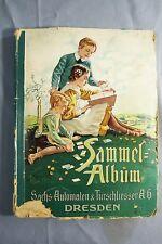 Sammelalbum Sächsischen Automaten und Türschliesser AG Dresden Sammelbilder