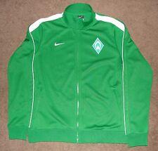 SV Werder Berman Bundesliga Nike Green Zip Up Track Jacket Large German EUC
