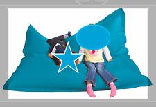 XXL Sitzsack BIGBAG Petrol Blau 130x170cm Lounge Sitzsack Chillen Relaxen Neu