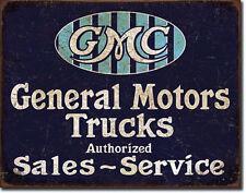 CLASSIC GMC Pubblicità AUTO OFFICINA SEGNO Poster Chevrolet Chevy CAMION 247