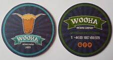 Wooha Brewing Company Larger Beermat Coaster