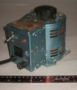 Staco Continuously Variable Autotransformer 0-120 VAC; 12 Amp