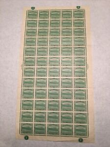Dominica 1/2 Penny Stamp c1903-07 MNH Full Sheet