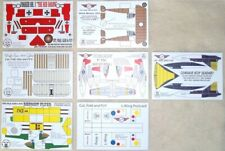 Paper Airplane Postcards, Simply Cut and Assemble! Set of 7, Clearance!