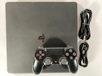 Sony PlayStation 4 PS4 Slim 500GB Console - 1 Controller Fast Same Day Shipping