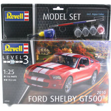 Revell Ford Shelby GT500 2010 EDITION MODEL SET (niveau 3) (échelle 1:25) 67044 New