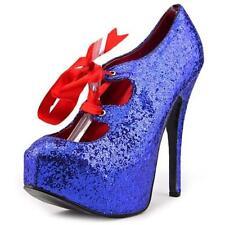 Stiletto Party Platforms & Wedges Medium (B, M) Heels for Women