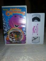 Barneys Night Before Christmas (VHS, 1999) WHITE TAPE EDUCATIONAL  FREE SHIPPING