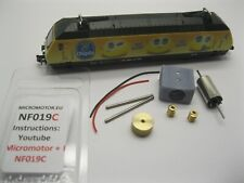 NF019C Fleischmann SBB Re 460, BLS Re 465 Umbausatz