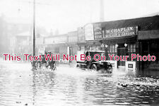 NF 238 - Prince Of Wales Road, Norwich Floods, Norfolk 1912 - 6x4 Photo