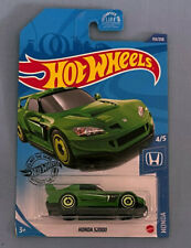 Hot Wheels HONDA HONDA S2000 GREEN bad card