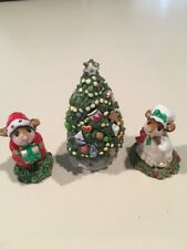 Wee Forest Folk Christmas Mouse With Tree Annette Peterson,
