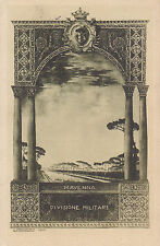 8681) RAVENNA DIVISIONE MILITARE. VG NEL 1933.