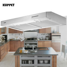 """New listing 30"""" Under Cabinet Range Hood Stainless Steel Push Panel Kitchen w/ Carbon Filter"""