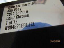 2014 Dale Earnhardt Jr 88 eBay Xfinity Camaro 1/24 color chrome FREE SHIPPING !