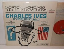 SB-6687 Ives Symphony No.1 Chicago Symphony Orchestra Morton Gould Grooved