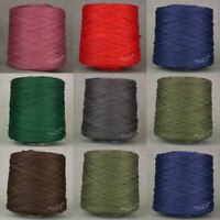 STRONG & THICK PURE LINEN WEAVING YARN * BIG 500g CONE * WARP WAXED FLAX CRAFTS