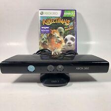 Microsoft Xbox 360 Kinect Sensor Bar with Kinectimals Game Model 1414 Tested!
