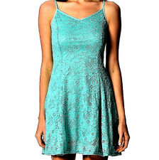 63 Popular Design MINT Green Lace LOOK Fashion Pretty Summer Style Size 14 Dress