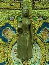 Phra Sukhothai Buddha Figure Talisman Old Fragment Thai Buddhsit Amulet