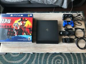 Sony PlayStation 4 Pro 1TB Console Great Condition!!