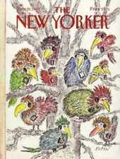 New Yorker COVER 06/20/1988  Birds in Tree - KOREN
