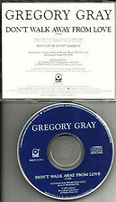 GREGORY GRAY Don't Walk RARE 1990 PROMO Radio DJ CD single Away from love