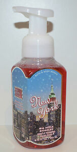 NEW BATH & BODY WORKS NEW YORK BIG APPLE SPARKLER GENTLE FOAMING HAND SOAP FOAM